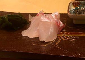 鮃と真鯛 なかや寿司