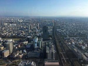 浜松オークラ34階からの眺望