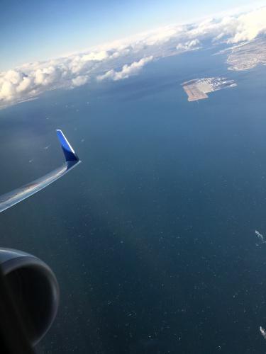空からセントレア空港
