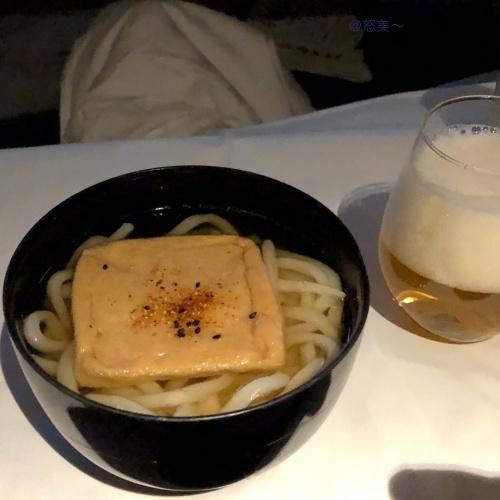 怒美〜(ドビー)のおつかい ANA ファーストクラス 機内食7