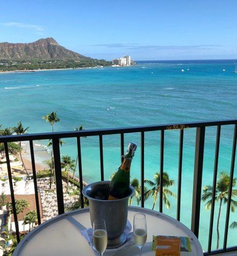 ハワイ ハレクラニホテル