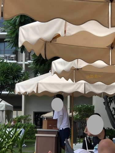 ハワイ ハレクラニホテル2