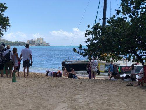 ハワイ ハレクラニホテル4