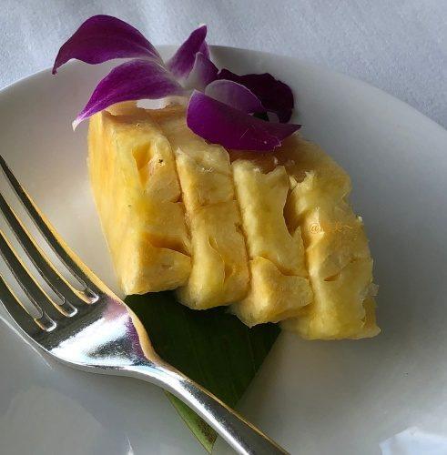 ハワイ ハレクラニホテル ラメール夕食15