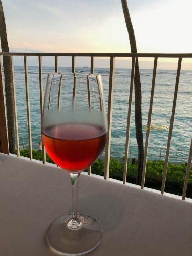 ハワイ ハレクラニホテル ラメール夕食2