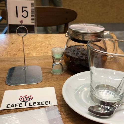 CAFE LEXCEL 番号札