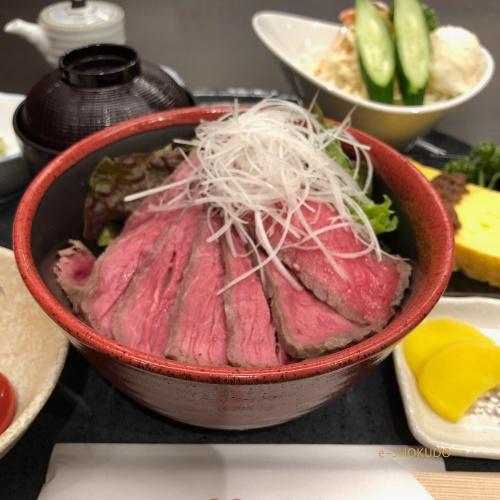 肉のまるよし ローストビーフ丼3