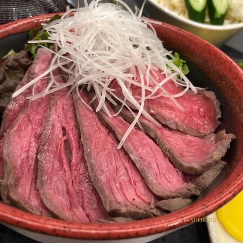 肉のまるよし ローストビーフ丼1