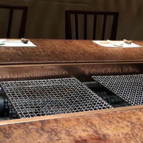 浜秀 テーブル席
