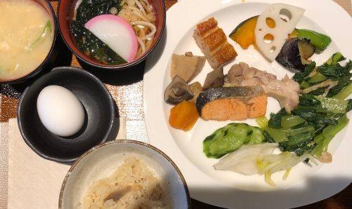 リッチモンドホテル福岡天神 朝食 和食1