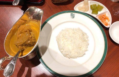 新宿中村屋 印度式カレー