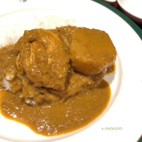 新宿中村屋 印度式カレー3