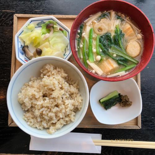 酢重ダイニング六角 ご飯お味噌汁お漬物セット