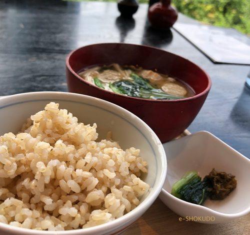 酢重ダイニング六角 ご飯お味噌汁お漬物セット2