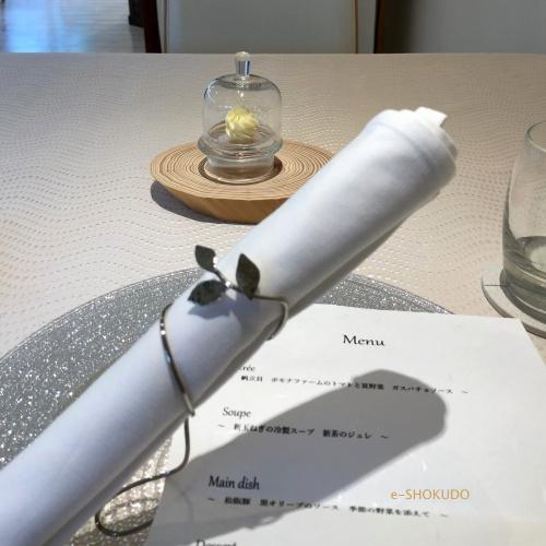 キュイジーヌ フランセーズ サンセリテ テーブルセッティング