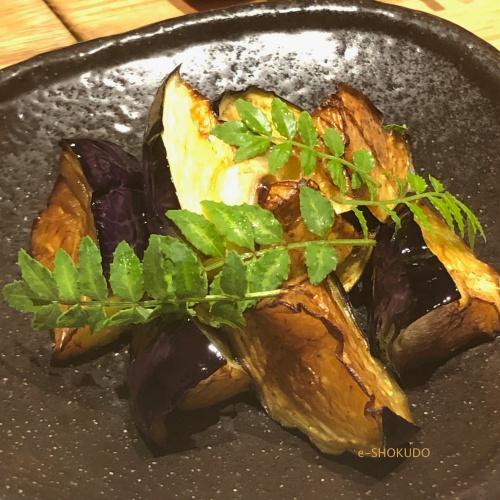 洋食おがた 賀茂茄子