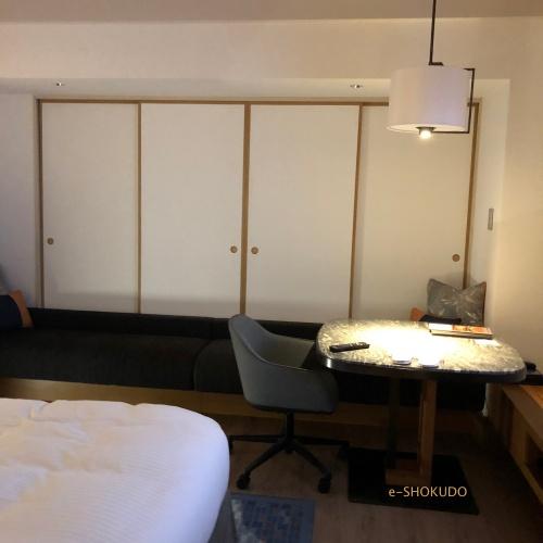 ヒルトン名古屋 室内 窓方向
