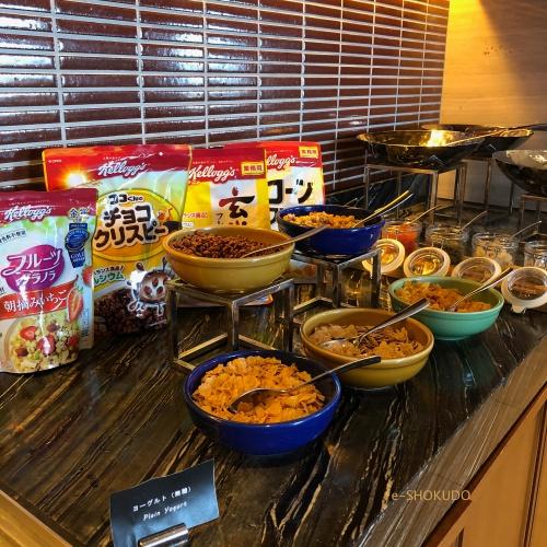 ヒルトン名古屋 エグゼクティブラウンジ 朝食1
