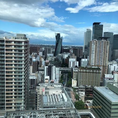 ヒルトン名古屋 エグゼクティブラウンジからの風景