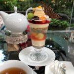 ザ・ウエスティン大阪 大阪ハニーパフェと紅茶