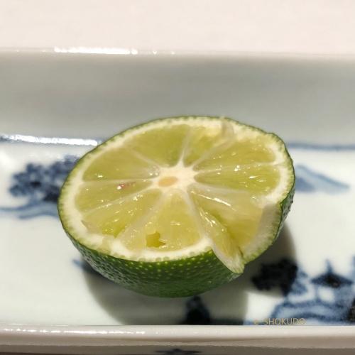 天ぷら 川原崎 酢橘