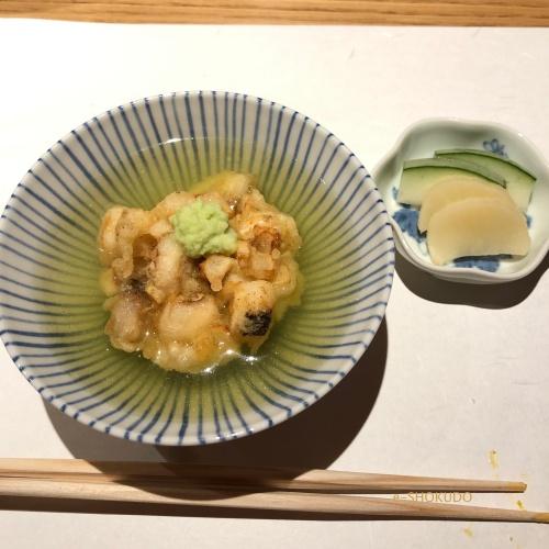 天ぷら 河原崎 スイカジュース