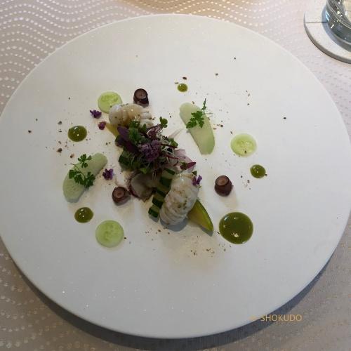 サンセリテ 蛸の前菜