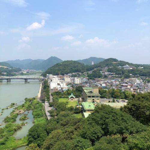 犬山城 天守閣から風景