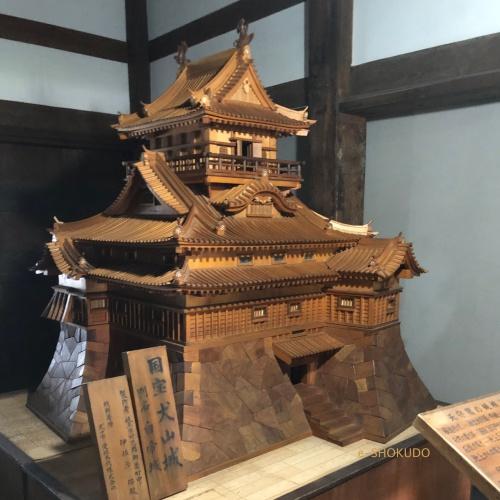 犬山城 模型