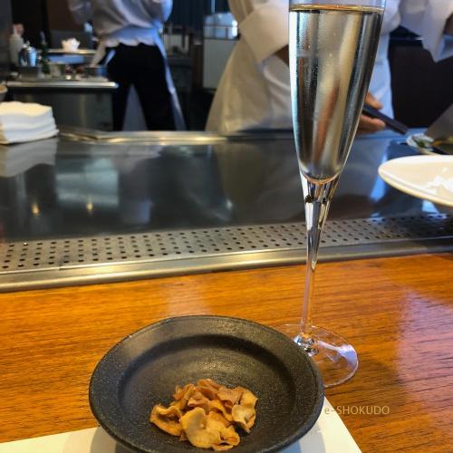 五山望 シャンパンと鉄板