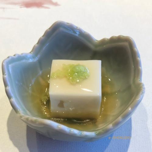 五山望 前菜 胡麻豆腐