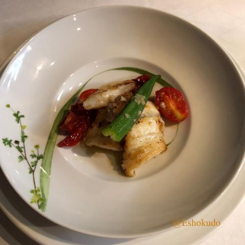 オルタリストランテ 魚料理