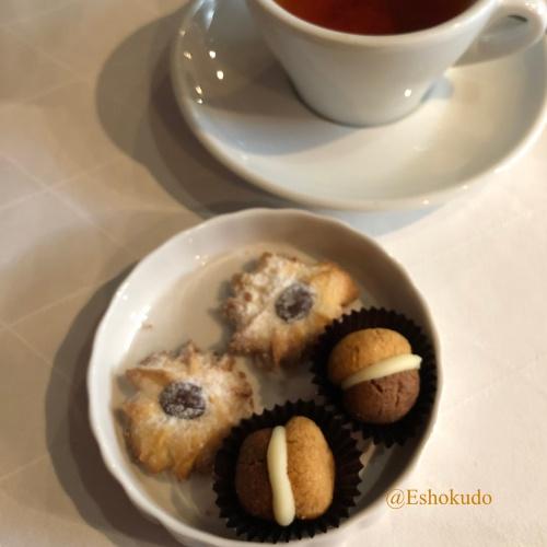 オルタリストランテ プティフールと紅茶