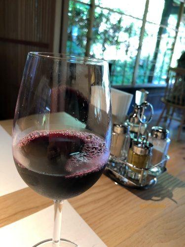 洋食 つばき ワイン
