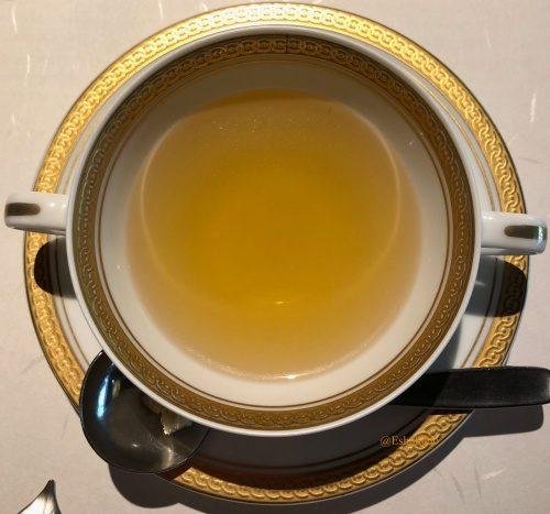 洋食 つばき コンソメスープ