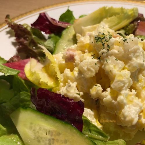 洋食 つばき ポテトサラダ