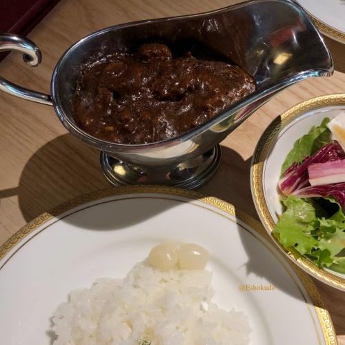 洋食 つばき カレーライス1