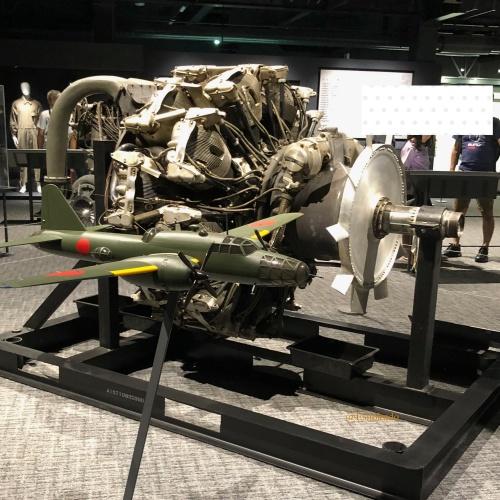 岐阜かがみがはら航空宇宙博物館 飛行機エンジン