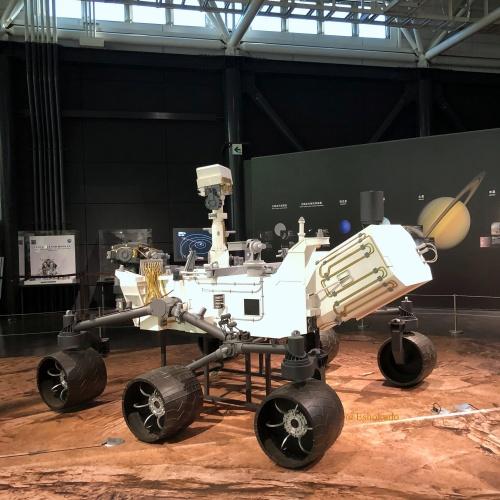岐阜かがみがはら航空宇宙博物館 宇宙観測1