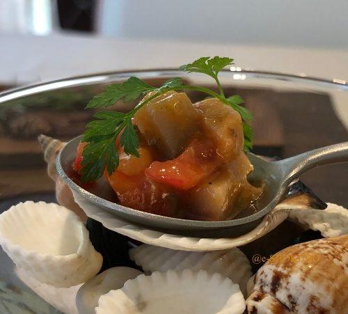 サンセリテ 前菜 秋鯖のマリネ