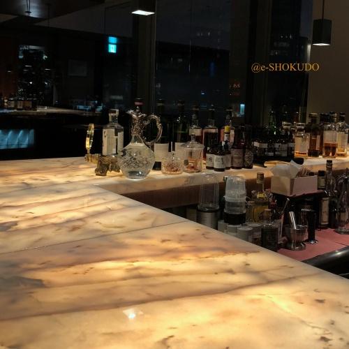 ザソサエティ パークホテル東京 カウンター