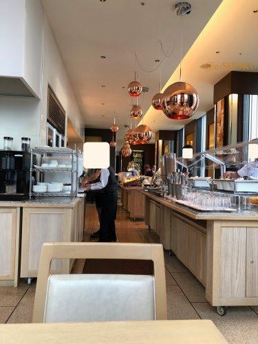 ザロイヤルパークホテル東京汐留 ハーモニーでの朝食