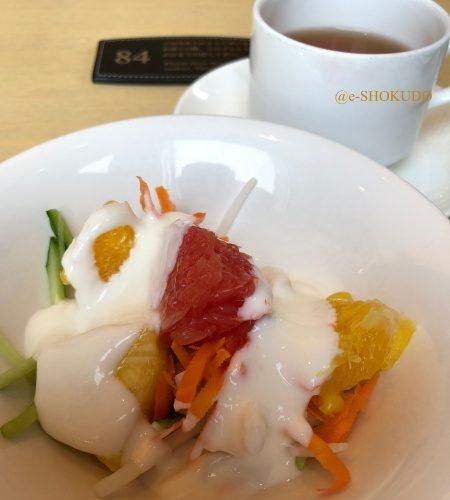 ザロイヤルパークホテル東京汐留 ハーモニーでの朝食 サラダ