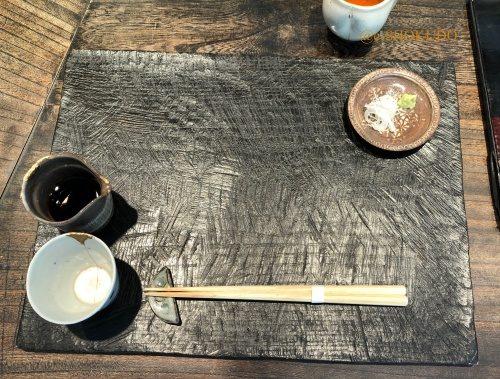 成富 テーブルセッティング