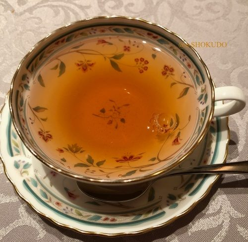 銀座ひらやま 紅茶
