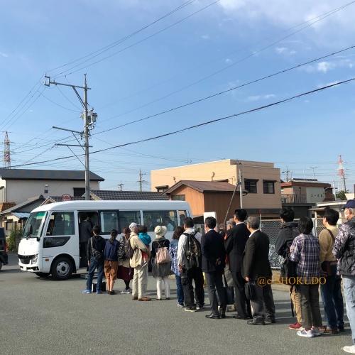 明野 航空祭 シャトルバス待ち