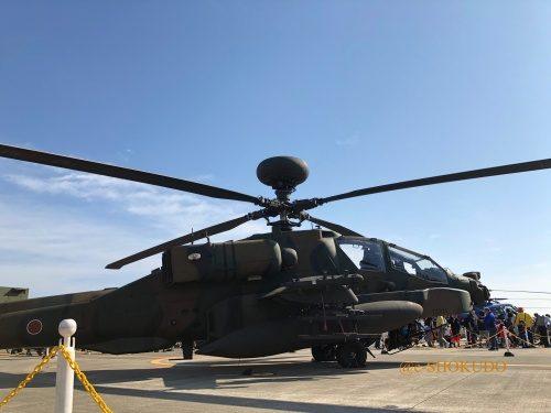 明野 航空祭 展示ヘリコプター