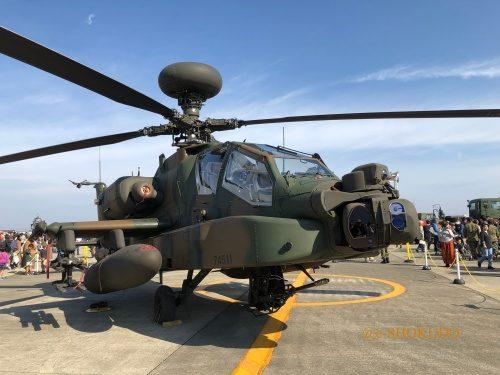 明野 航空祭 展示ヘリコプター 迷彩