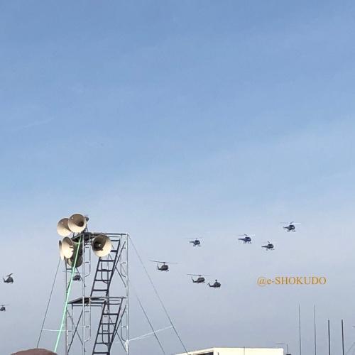 明野 航空祭 編隊デモ