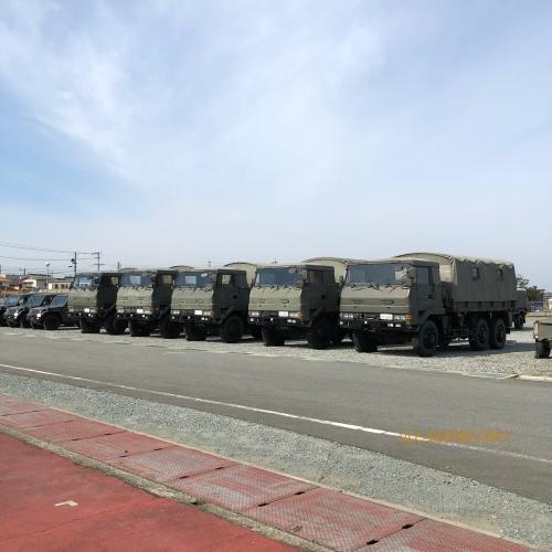 明野 航空祭 トラック